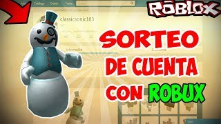 EX OBC AND BC ACCOUNT SWEEPSTAKE WITH ROBUX 2018!! - ROBLOX