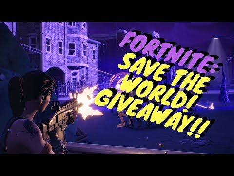 fortnite save the world pc giveaway