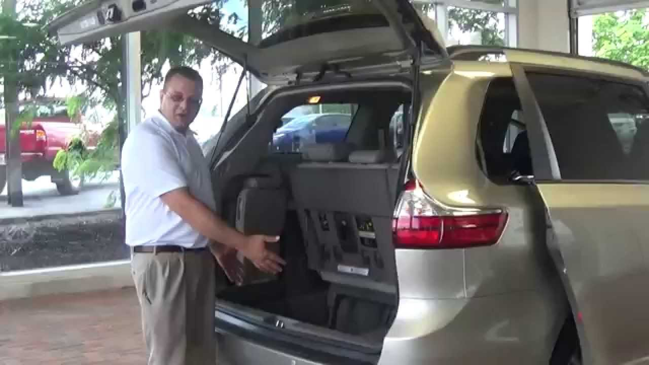 Honda Odyssey Spare Tire How to access the spare tire on a new 2015 Sienna - YouTube