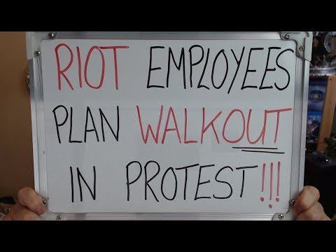 RIOT Employees Plan WALKOUT in Company Protest (This is a COMPLETE MESS) !!