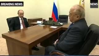 2015 Новое! Встреча Путина с ректором МГУ Виктором Садовничим