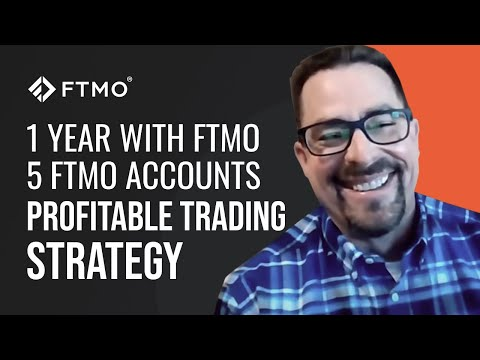 1 year with FTMO and being funded with 5 FTMO Accounts. Trader Michael shares his strategy and more!