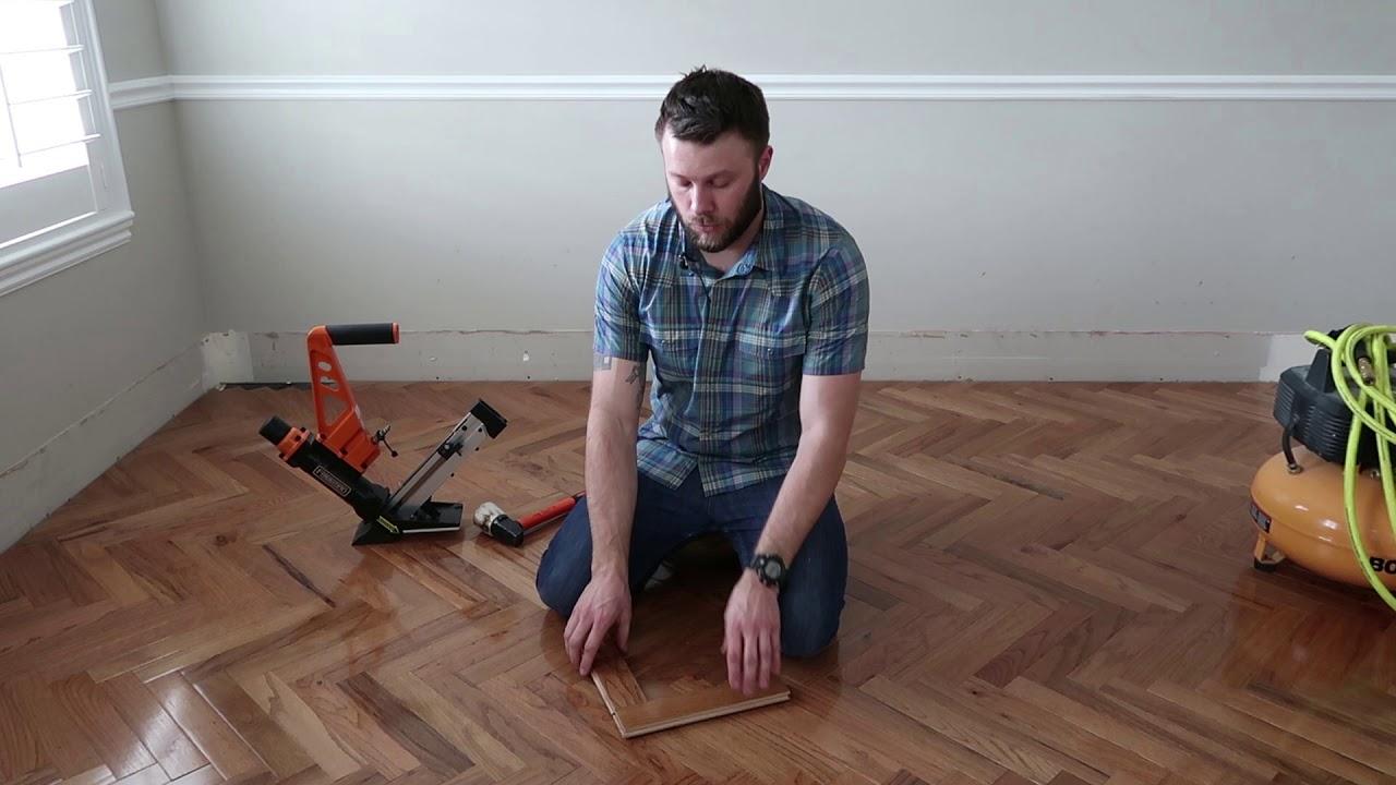 How To Install Herringbone Hardwood Floors