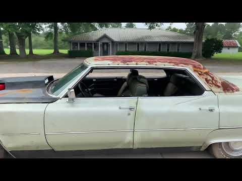 Dylan's crazy toys Cummins swap 1969 Cadillac fleetwood