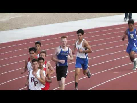 21 MARCH 2017 BOYS 1600M SILVER VALLEY HIGH SCHOOL TRACK AND FIELD