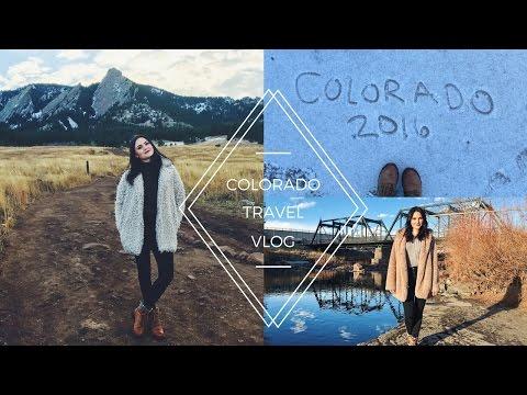 FIRST VLOG/COLORADO/VEGAN
