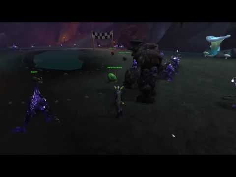 World of Warcraft - Legion - Highmountain - snail racing