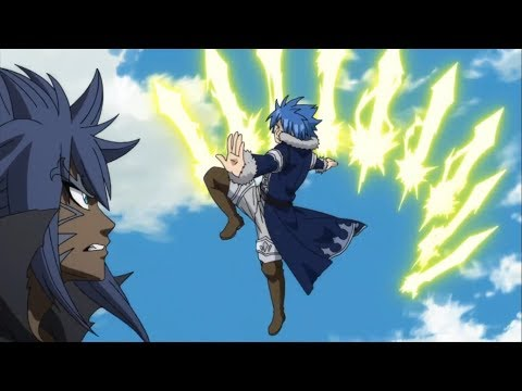 Fairy Tail Jellal , Erza , Wendy V.S Acnologia .