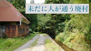 【廃村】人だけが消えた村【南越前町菅谷(スゲノタニ)】