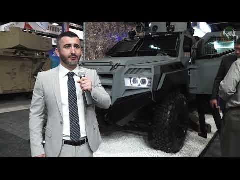 AUSA 2018 Association U.S. Army defense exhibition Griffin III Senator Roshel AM General Bastion APC