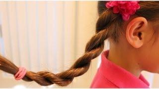 髪の毛をねじるだけでできる 簡単なヘアスタイルを紹介します。 ブログ ...