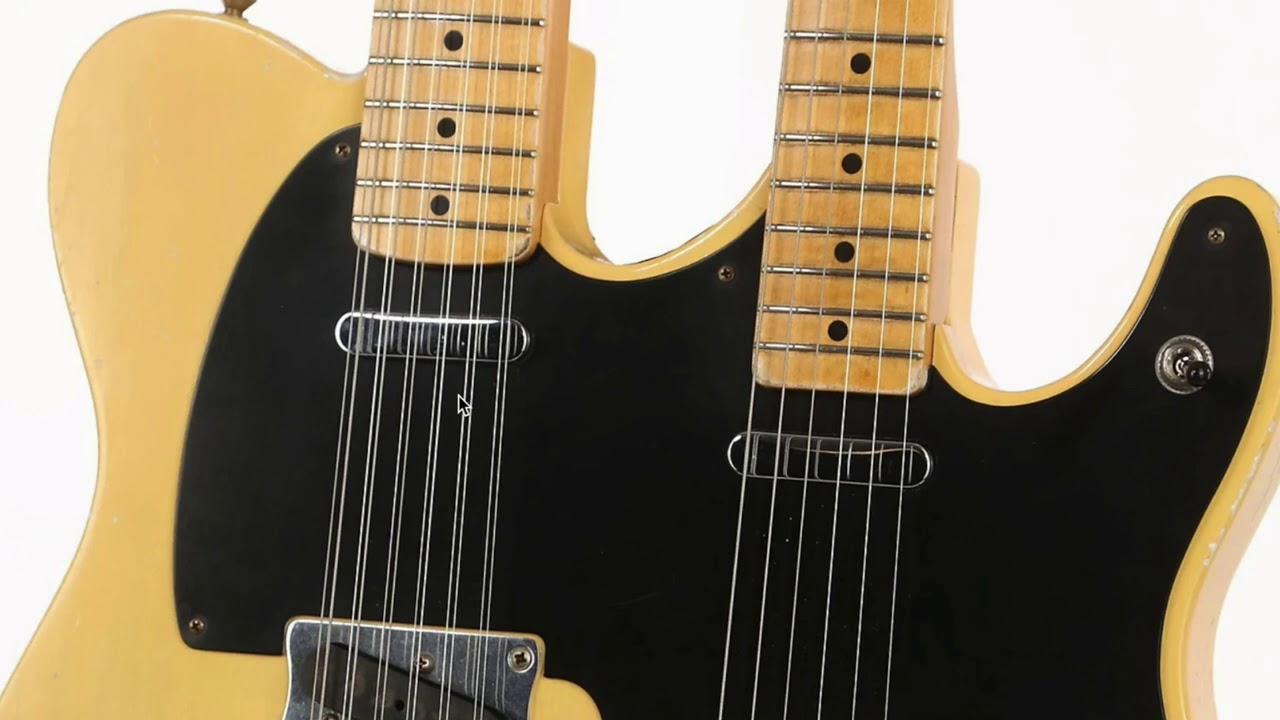 Fender's Got Double Vision | WYRON | Fender Double Neck Guitars - Telecaster, Jazzmaster and Bass VI