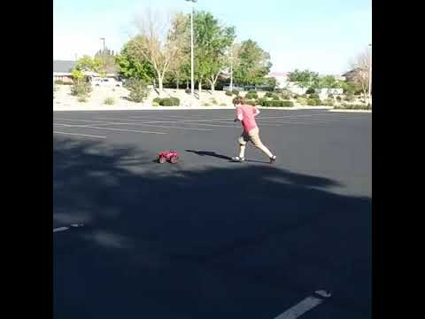 Playing with rc cars