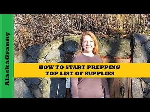 How To Start Prepping: Top List Of Supplies