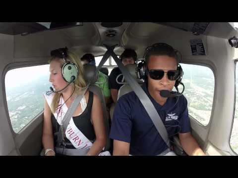 [HD] Miss Auburn University Flies with War Eagle Flying Team