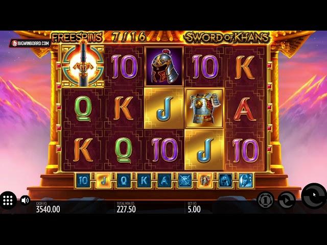 Spiele Sword Of Khans - Video Slots Online