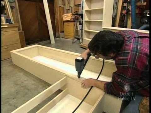Para hacer un librero youtube for Como construir un kiosco en madera