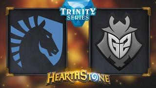 Hearthstone - Team Liquid vs. G2 - Hearthstone Trinity Series - Day 9