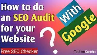 Free SEO Checker | Google New SEO Audit Tools | Web.dev Portal For Developers | Site SEO Audit 2018