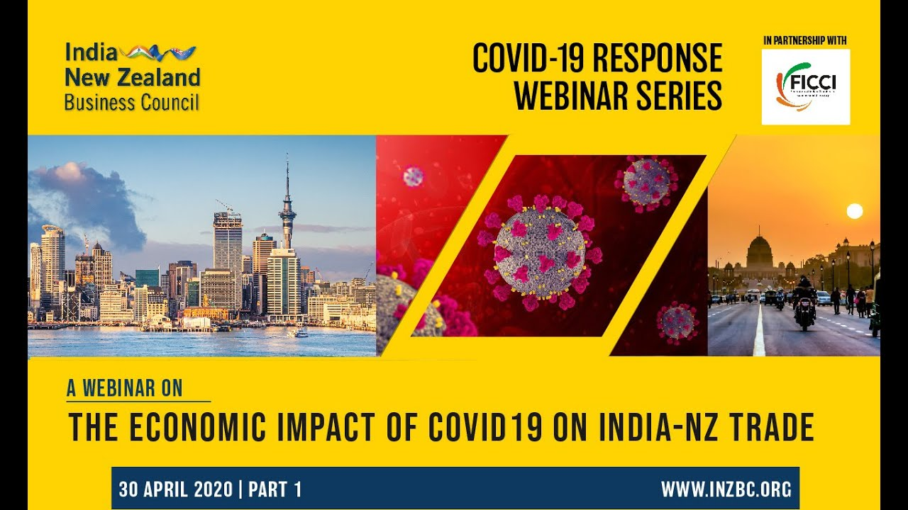 Webinar: The Economic Impact of COVID-19 on India New Zealand Trade