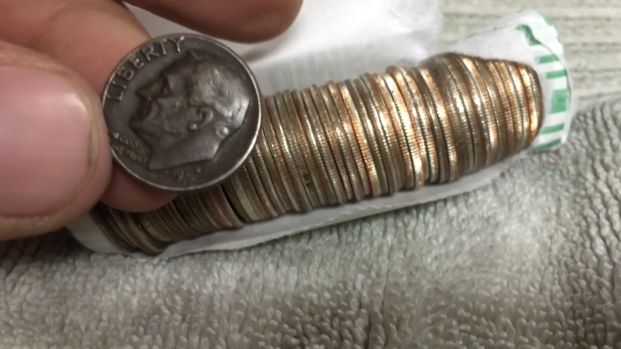 Denver Mercury Dime Coin Roll Hunting Youtube