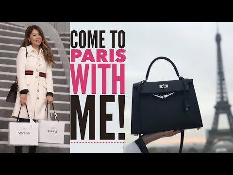 PARIS TRAVEL VLOG: LUXURY SHOPPING - CHANEL, HERMES, YSL & GOYARD - Part 2