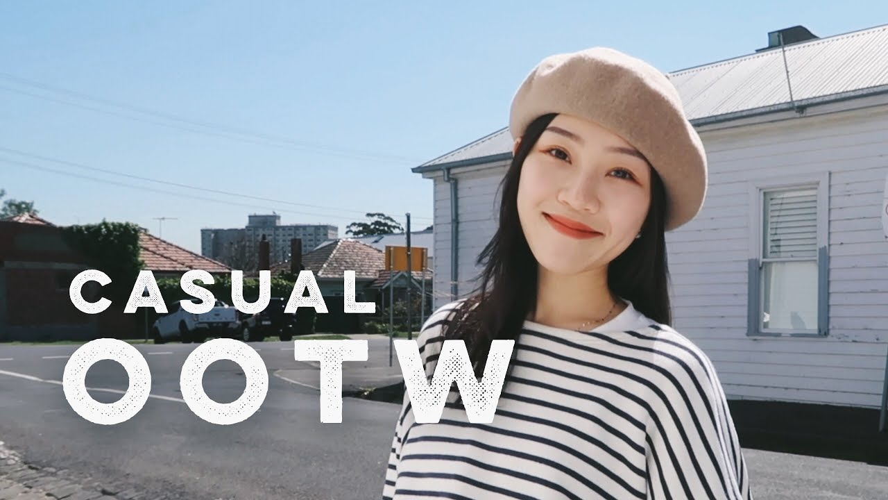 [VIDEO] - Casual OOTW| 简约的一周穿搭| 春/秋季穿衣想法| Spring/Fall outfit ideas| Anni X 2