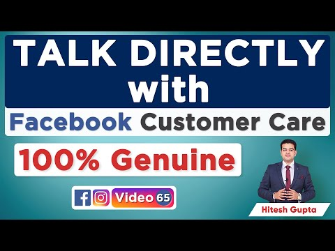 Talk Directly With Facebook Customer Care | How To Contact Facebook Support | Facebook Help Center