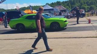 American Beauty Car Show 2017 kiirendus/drag race + Monster Truck Show