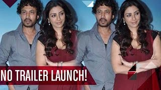 Talvar' Official Trailer Launch: LEADS Irrfan Khan & Tabu MISSING, But Why?? | Bollywood news
