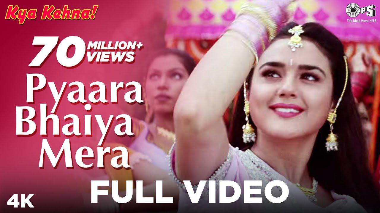 Download Pyaara Bhaiya Mera Full Video - Kya Kehna! | Alka Yagnik | Kumar Sanu | Preity Zinta