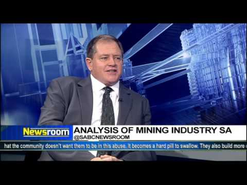 Analysis on the Mining Industry in South Africa