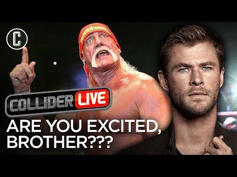 Chris Hemsworth as Hulk Hogan: Are You Excited? Wchagonnado?! - Collider Live #77