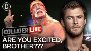 Chris Hemsworth as Hulk Hogan: Are You Excited? Wchagonnado?! - Collider Live #77 thumbnail
