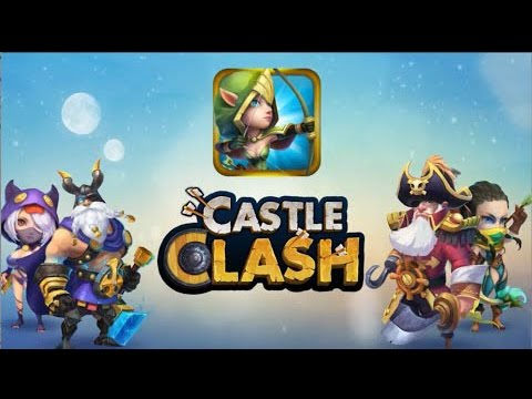 Castle Clash: Age Of Legends - Gameplay IOS & Android