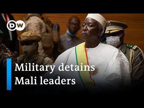 Mali: President, prime minister arrested in 'attempted coup' | DW News