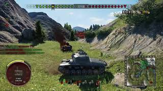 WOT Console    Strv 74 - Focused Down!