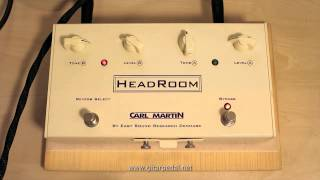 Carl Martin Headroom Reverb Unit: A Demo with Fender Blues Jr. & Gibson Melody Maker