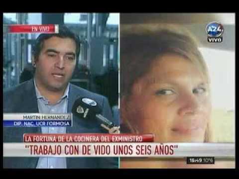 Martin Hernandez en A24- La fortuna de la cocinera de Julio De Vido