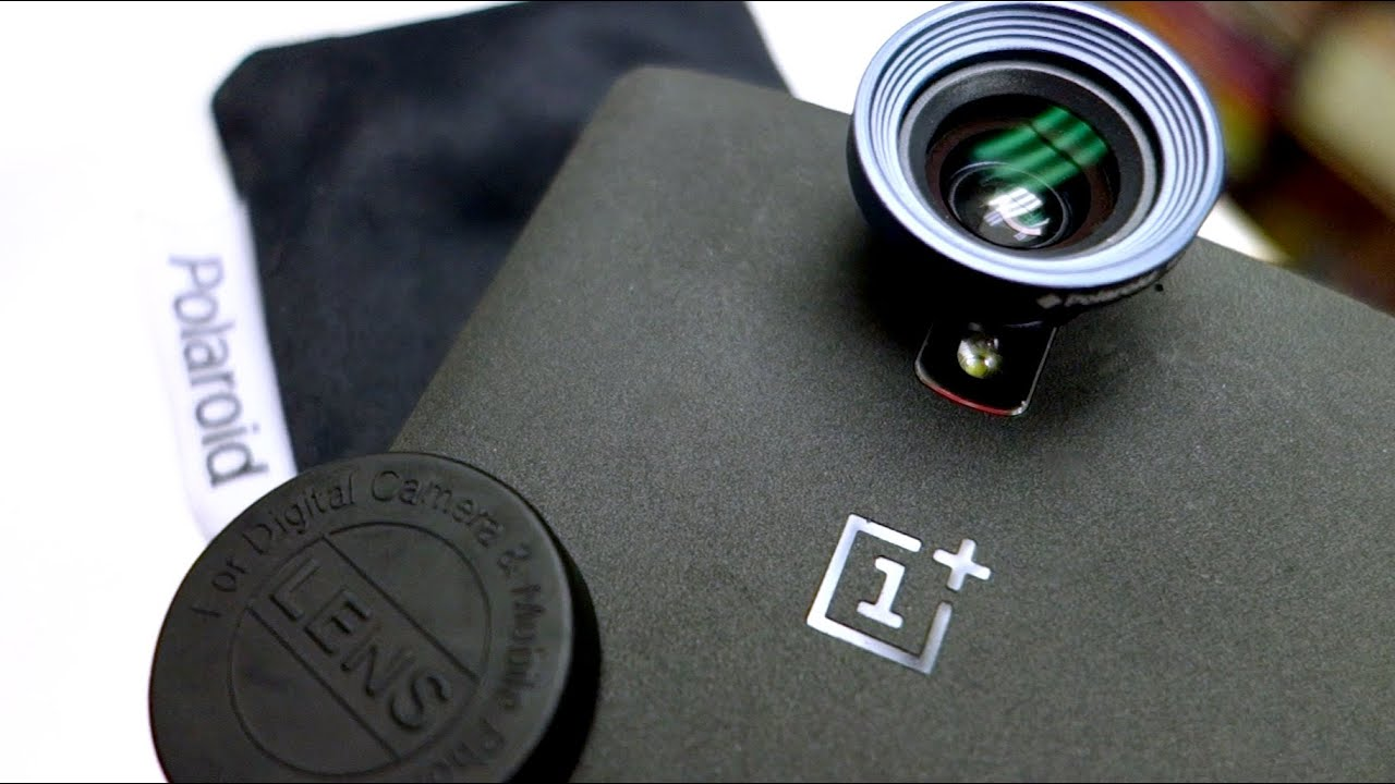 c869279eebd Photos Result of Polaroid 3 in one camera lens attached on OnePlus One  mobile