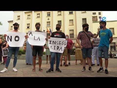 """Manifestación """"contra la inseguridad"""" con presencia del padre del joven apuñalado"""