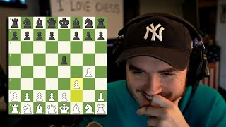 Schlatt loses a chess game in 2 moves