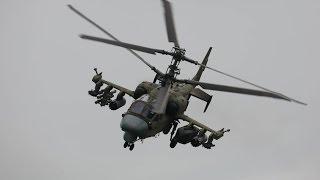Ка 52 устроил представление перед отдыхающими на сирийском пляже(Российский ударный вертолет Ка-52 выполнил ряд маневров на сверхмалой высоте, чем привел в восторг отдыхающ..., 2016-07-11T17:26:39.000Z)