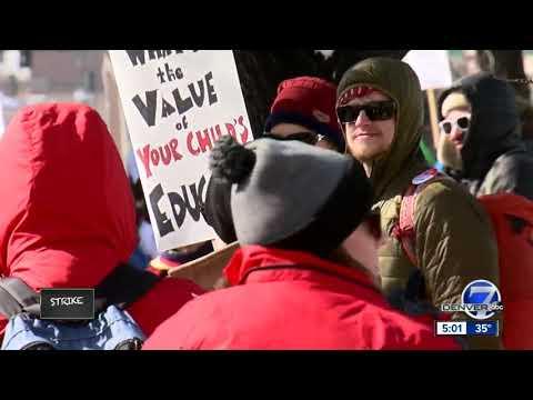 Denver teachers strike for better compensation Mp3