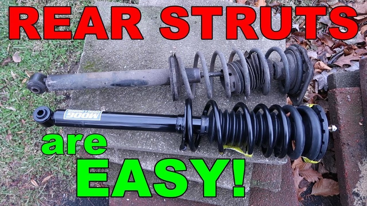 how to replace the rear struts on a 2000 chevy cavalier  [ 1280 x 720 Pixel ]