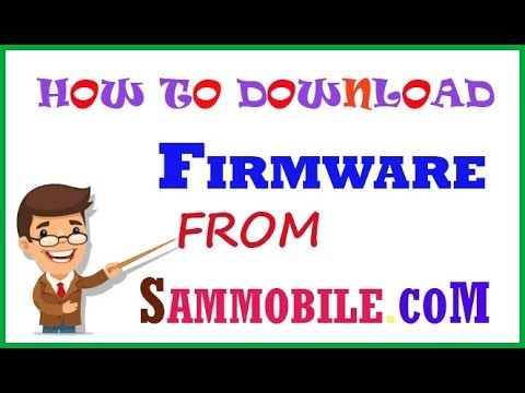 HOW TO DOWNLOAD FIRMWARE FROM SAMMOBILE COM 2016+