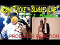 Robin Thicke   Blurred Lines ft  T I  Pharrell Official Music Video - Producer Reaction