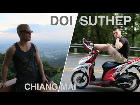 RIDING UP DOI SUTHEP 🌴 Top Things to do in Chiang Mai (Wat P