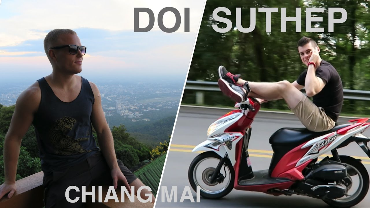 RIDING UP DOI SUTHEP ? Top Things to do in Chiang Mai (Wat Prathat) Thailand Travel Vlog 2016