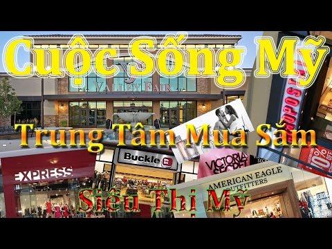 2. Cuộc Sống Mỹ - Salt Lake City, UTAH: Đi Mall để mua sắm quần áo, giầy dép và lotion cho mùa Đông.